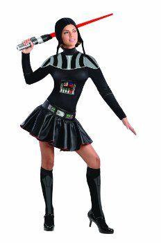Secret Wishes Star Wars Female Darth Vader Costume