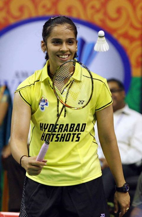 Saina Nehwal-cute winning smile