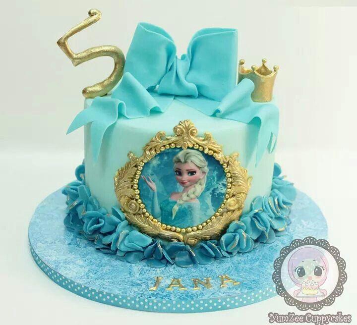 elsa frozen birthday cake frozen party pinterest