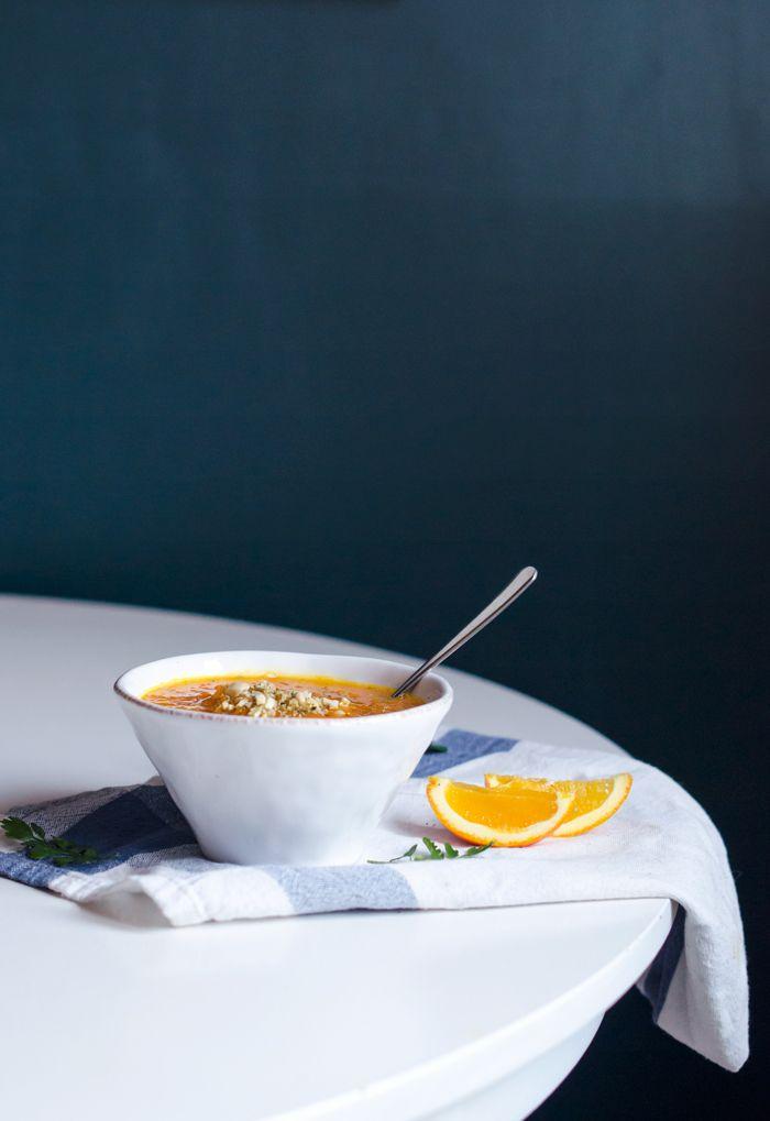 Recept: Morotssoppa med apelsin