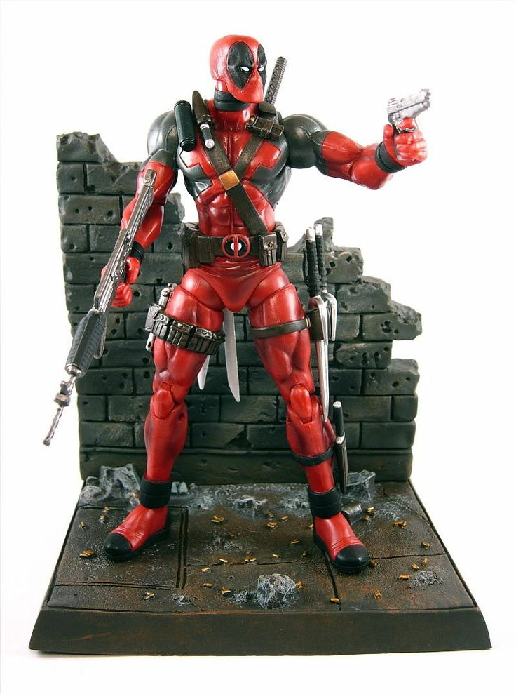 Red Circle Toys Marvel Select Deadpool Action Figure