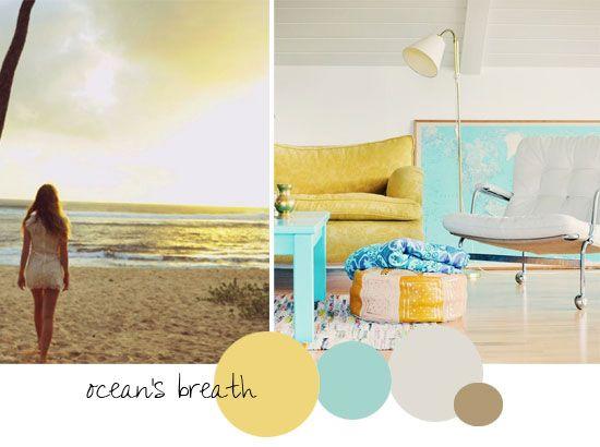 HvH Interiors: Summer Inspired Colour Palettes for Interiors: Color Palettes, Color Inspiration, Deco Ideas, Color, Coraggio Ideas, Colour Palettes