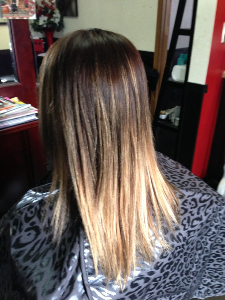 ombre hair color this is what I want