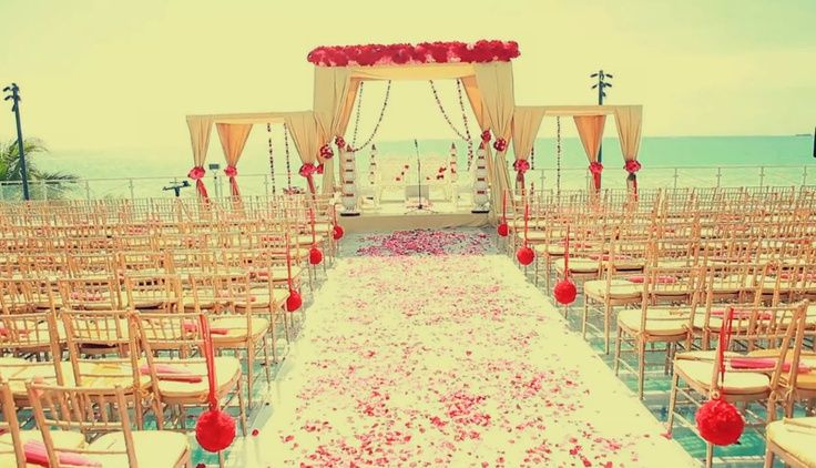 indian wedding ceremony aisle - Google Search