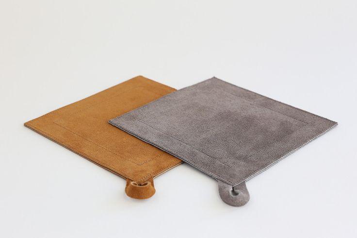 Square Suede Potholder – Alder & Co