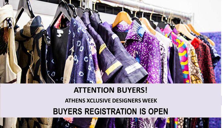 TO BUYERS!! Για την καλύτερη εξυπηρέτηση σας τις ημέρες του event, συμπληρώστε την ειδική φόρμα buyers accreditation εδώ: www.axdw.gr/contact Looking forward to seeing you :)