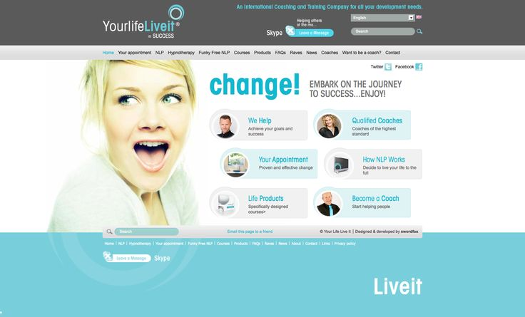 An international training & coaching company for all your development needs. http://www.yourlifeliveit.com