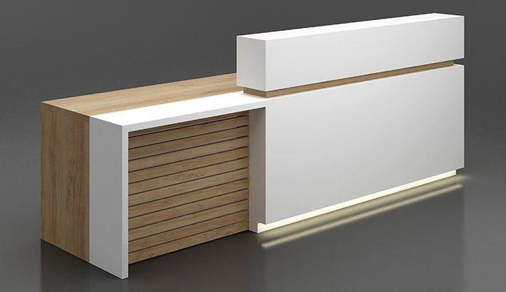 Office Designs Reception Industrial Design En 2020 Comptoir Reception Design Comptoir De Reception Deco Bureau Professionnel