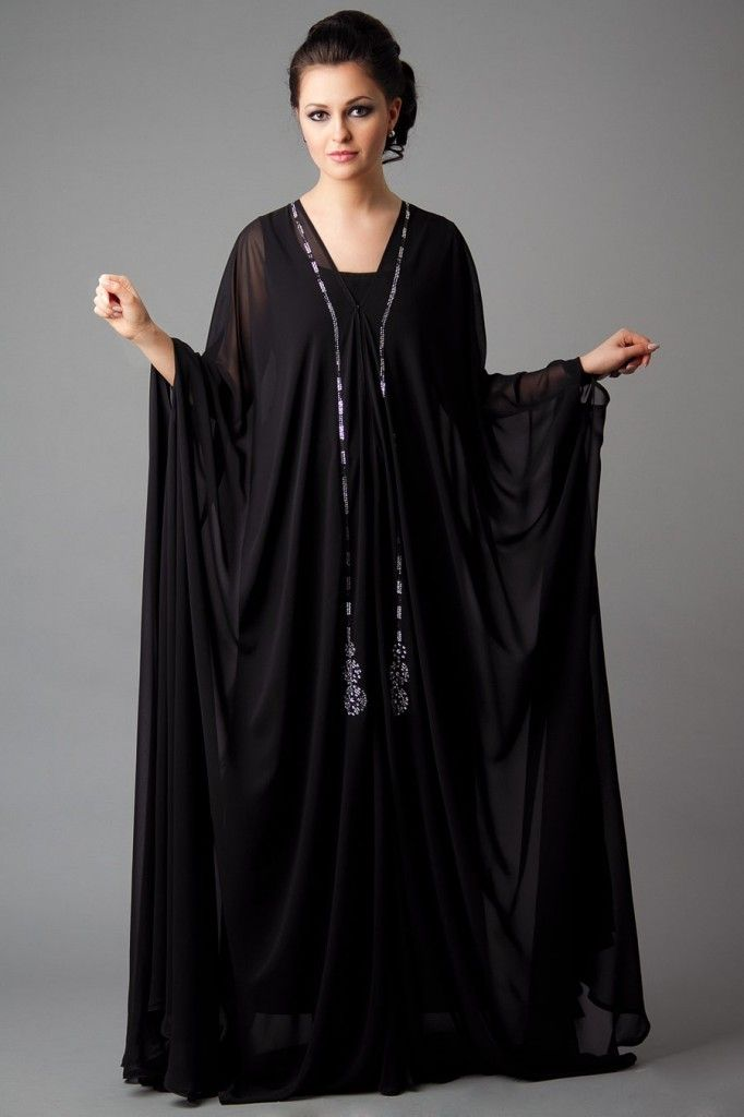 Designer Embroidered Abaya Collection 2013-2014 for Girls (2)