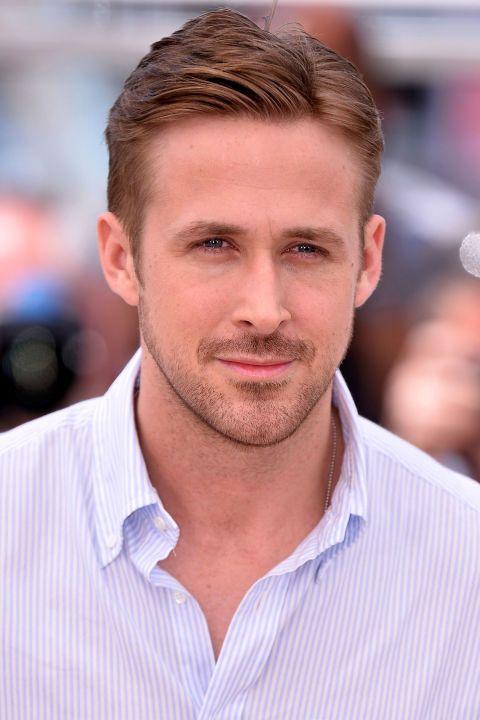 11 celebrity men who believe that manicuring is okay: Ryan Gosling.