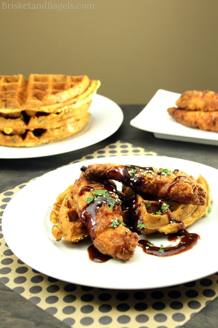 Chinese Chicken and Waffles
