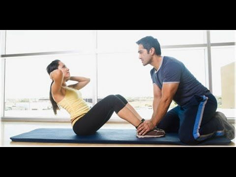 How To Do Sit Ups Correctly for Beginners At Home - YouTube