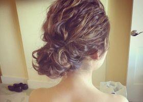 結婚式用*可愛すぎるハーフアップの髪型参考画像集 | marry[マリー]