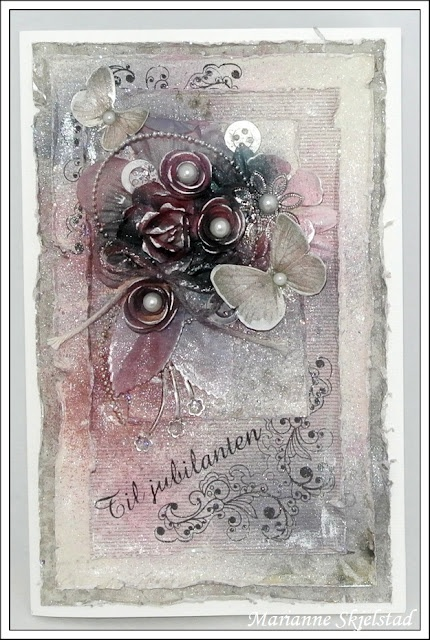 Mariannes papirverden.: Glimmermist og Pion Design