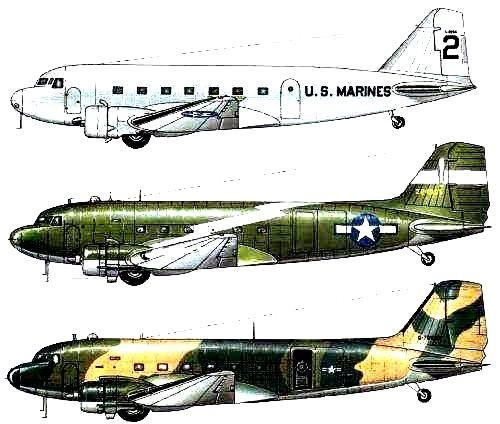 Douglas DC3, Dakota, C47, R4D, DC1, DC2 A/C Capt.Allen Campbell | Douglas dc3, Douglas aircraft ...