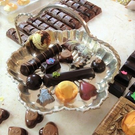 Baking Courses How to Use Chocolate Moulds by Celebration Cooking with Jessica Pedemont