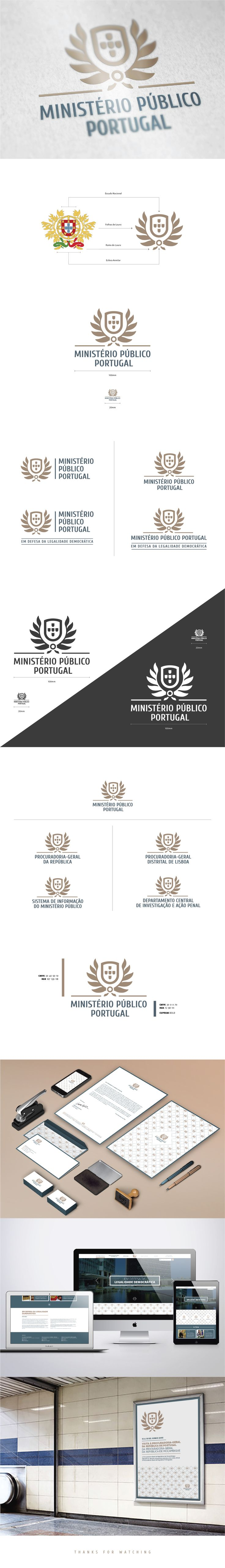 Mike Carreira on Behance #graphicdesign #branding #corporateidentity #logo #design #ministry #creativeprocess #rebranding #contest #government