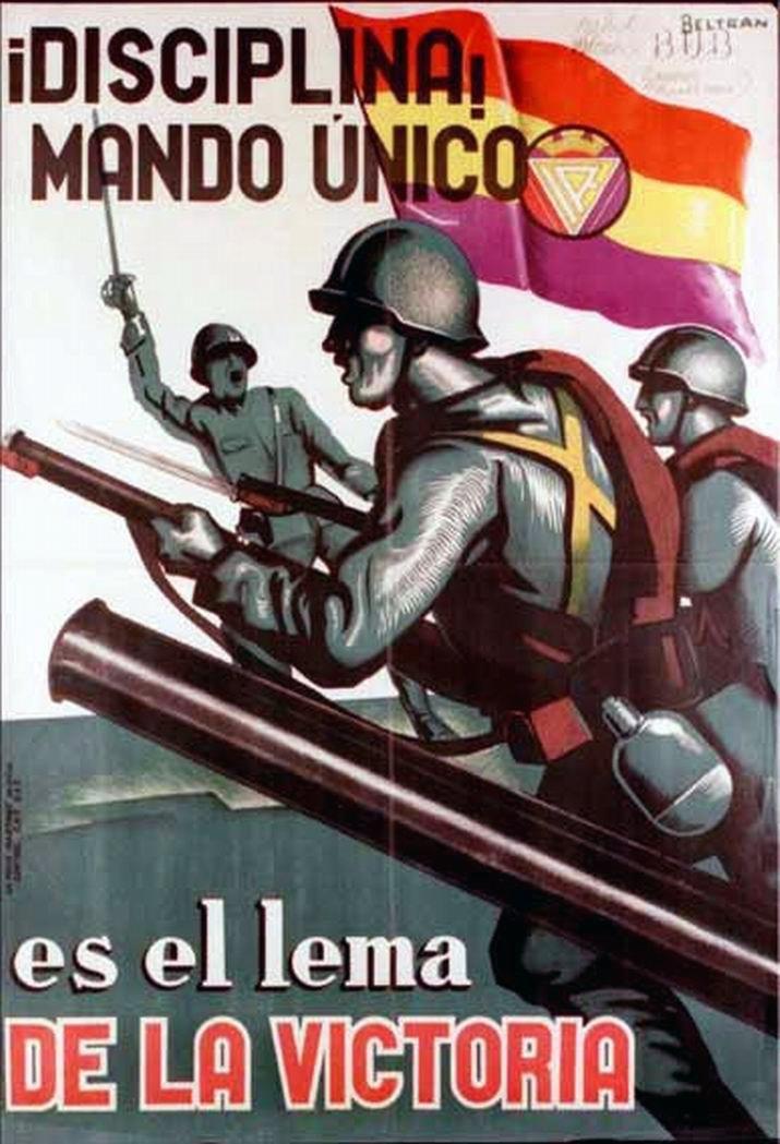 Republic propaganda poster   Spanish civil war 1936/39 #Afiches #Carteles #Spain @deFharo