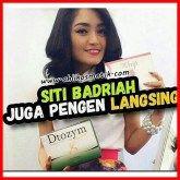 Siti Badriah Langsingkan tubuh dengan WMP Juice