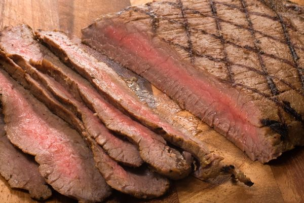 Bourbon-Marinated Flank SteakSteak Sandwiches, Maine Dishes, Flank Steak, Bourbonmarin Flank, Bourbon Marines Flank, Beef, Steak Recipe, Foodies Inspiration, Eating