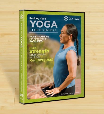 Rodney Yee's Yoga For Beginners DVD: $14.98. Shop now: http://www.gaiam.com/rodney-yee-yoga-for-beginners/05-53391.html?utm_source=pinterest&utm_medium=socialmedia&utm_campaign=ptgaiamcom&extcmp=sm_pt_tc