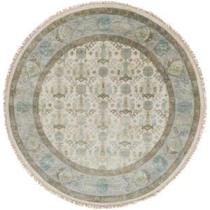 Artistic Weavers Kronos Denim 8 ft. x 8 ft. Round Area Rug-S00151085777 - The Home Depot