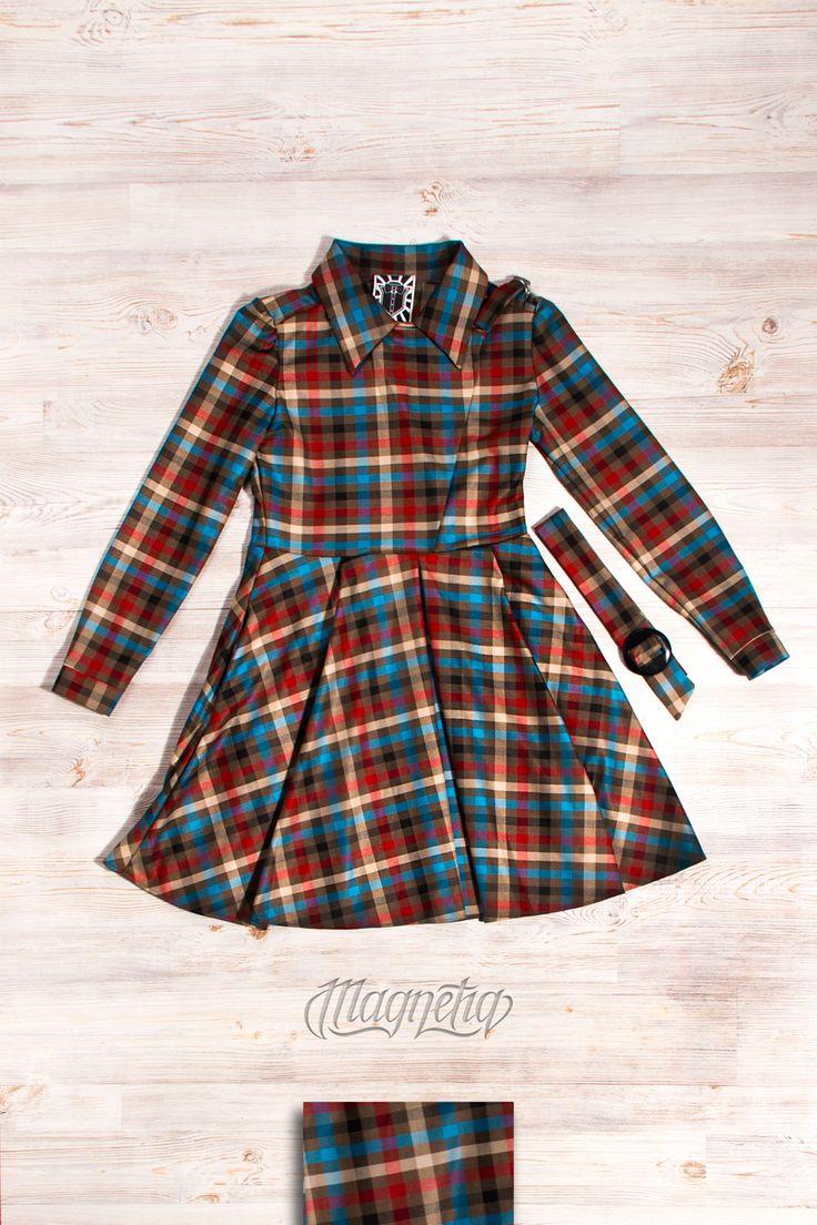 Самое универсальное, одновременно яркое и строгое платье в клетку в прочтении Magnetq11!  Must have на каждый день!  Размеры: XS, S, M Стоимость: 5900 ₽  Бесплатная доставка   Для заказа:  WhatsApp: 8(916)66-04-222   www.magnetiq11.com   ➖➖➖➖➖➖➖➖➖➖ #magmetig11 #dress #платьемосква #платьеназаказ #купитьплатье #платьеподзаказ  #love #follow #like4like #f4f #girl #look #fashion #style #tagsforlikes #shopping #cute #livestyle