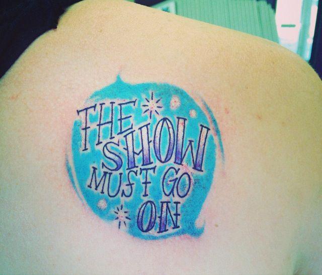 My theatre tattoo! #theatre #tattoo