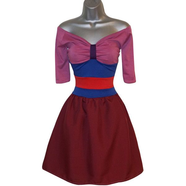Adult Mulan Fancy Dress Costume (UK 12) (US 8) (EUR 40) Ladies Womens... ($52) ❤ liked on Polyvore featuring costumes, womens halloween costumes, role play costumes, ladies halloween costumes, princess costume and adult ladies halloween costumes