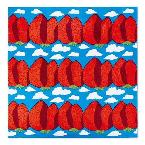 Marimekko for Target Oversized Beach Towel - Mansikkavuoret Print - Primary