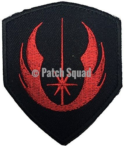 Patch Squad Men's Jedi Order Galactic Republic Jedi Knights Shield Military Morale Patch