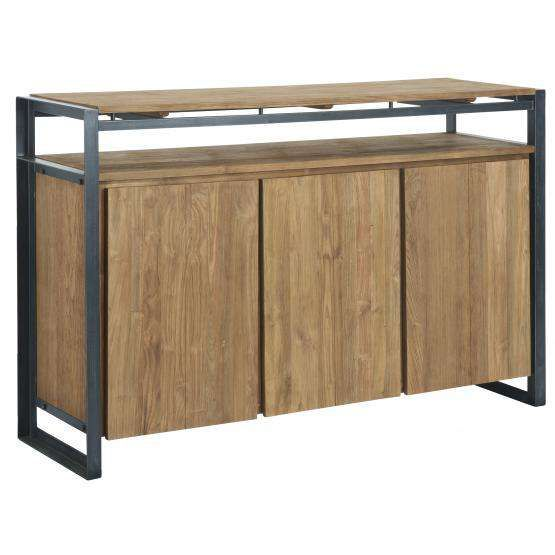 d-Bodhi hoog dressoir Fendy, 3 deuren, open vak d-Bodhi Fendy Collection Kasten