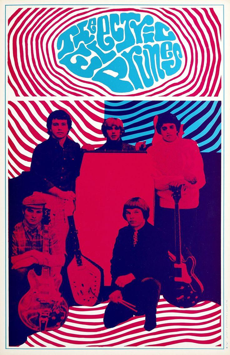The Electric Prunes1967, Saladin Headshop (Los Angeles, CA).