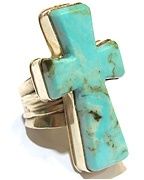 turquoise cross ring!