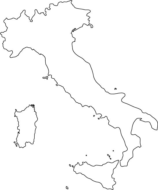 Italy outline