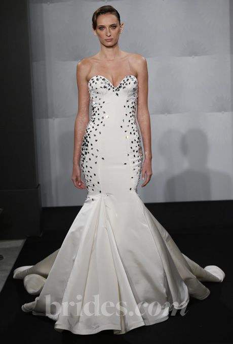 Trumpet Wedding Dresses Kleinfeld : Wedding dress mark zunino dresses trumpet