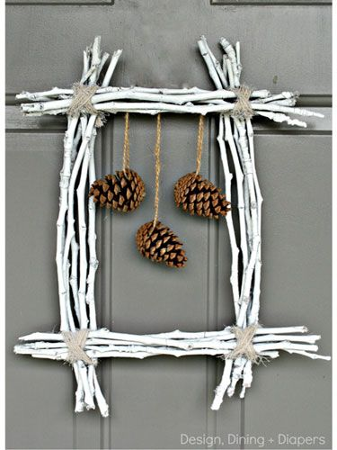 Ahh I love this, Collecting pinecones reminds me of being a kid out in the forest with Dad. I still go out and do it and have a couple of special ones sitting at home. I'm so doing this!