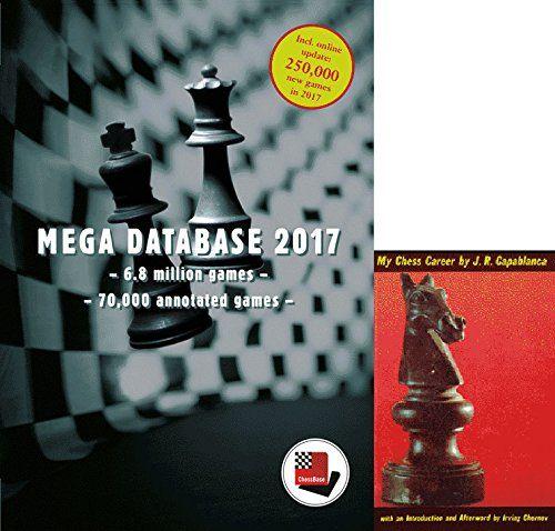 "Mega Database 2017 Chess Database Software & Capablanca's ""My Chess Career"" E-Book (2 Item Bundle)"