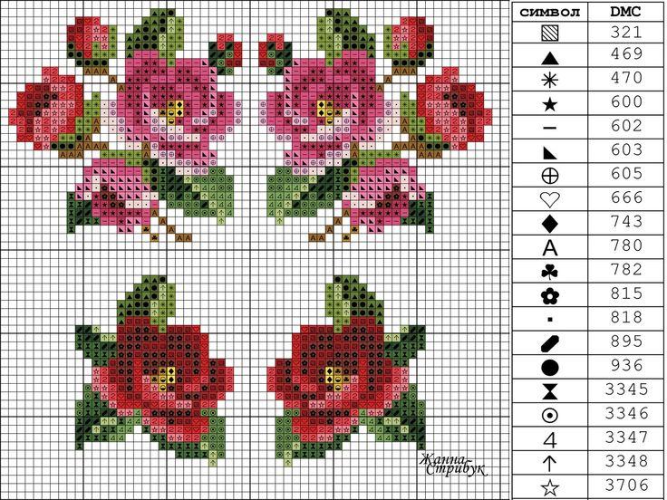 Схемы вышивки Жанны Стрибук's photos – 662 photos   VK