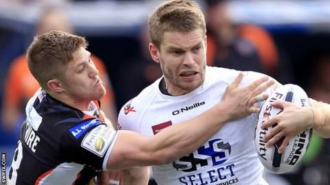 Super League: Widnes Vikings v Huddersfield Giants