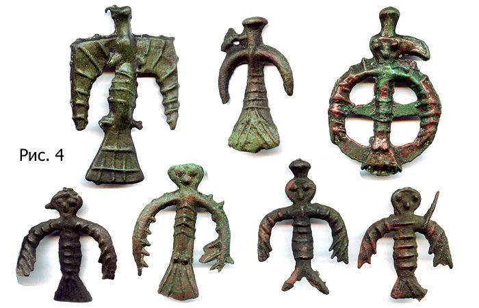 Иткульские орнитоморфные идолы VII-III в. до н.э.