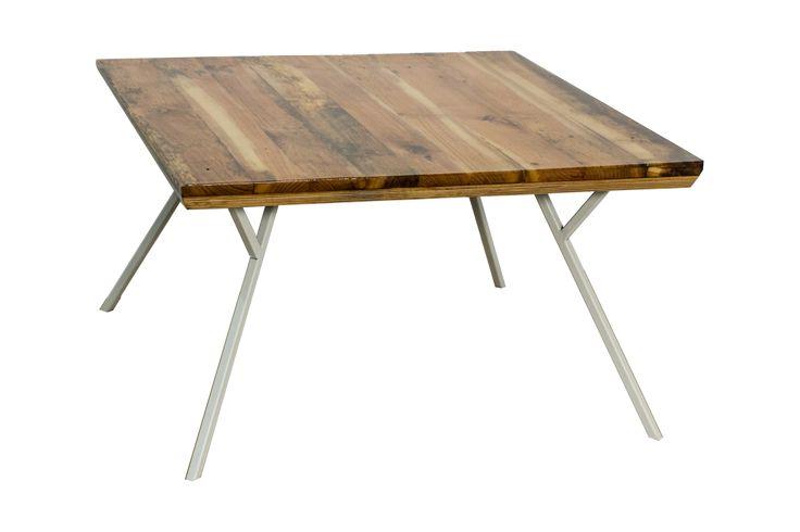 Roua - reclaimed wood minimalist coffee table
