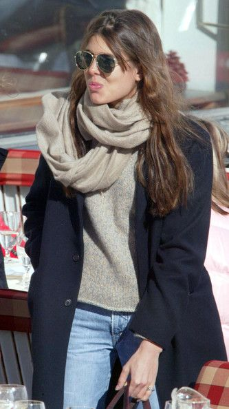 Charlotte Casiraghi does everyday chic.