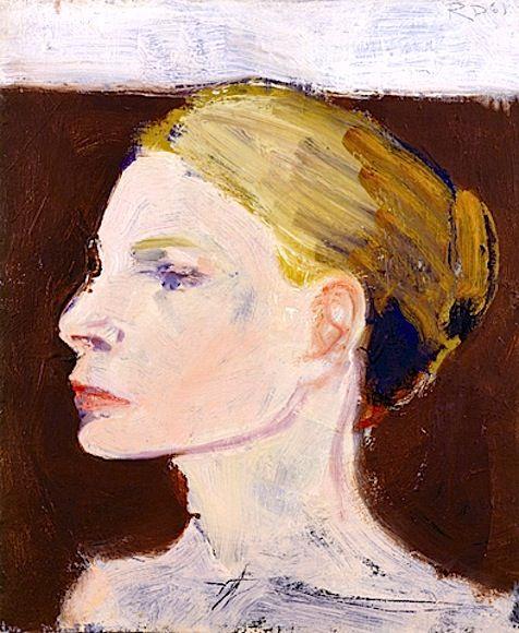Portrait of Jane by Richard Diebenkorn