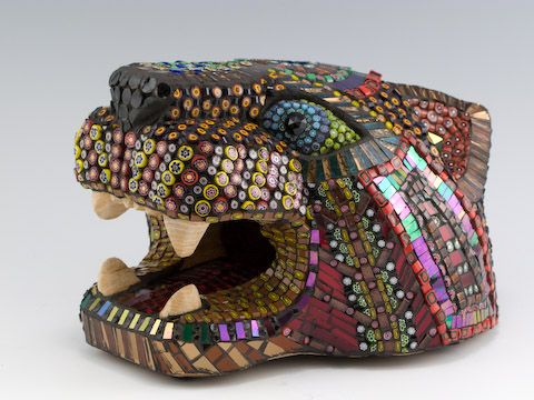 """Cat Head""  by Cassie Edmonds"