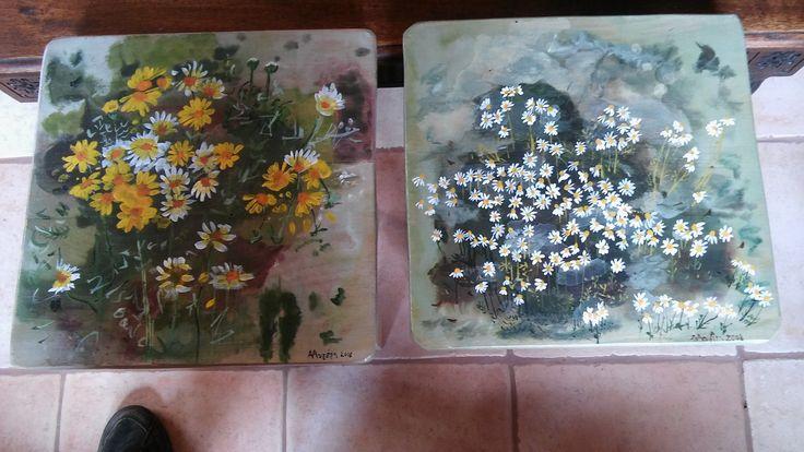Inspired from Varlamos' Greek Wildflowers