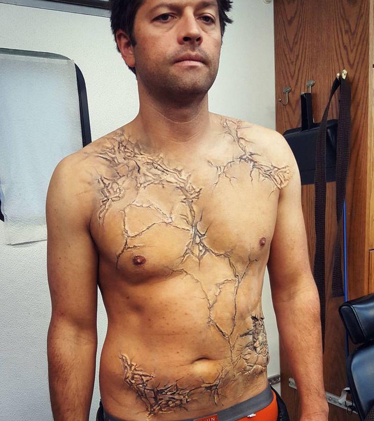 Misha Collins Shirtless ❤❤❤❤❤❤❤❤❤️❤️