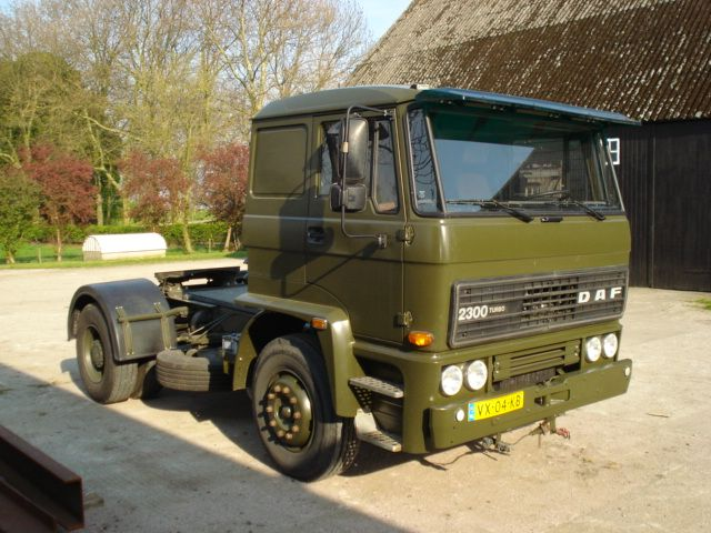 DAF FT 2300 Army Truck - Holland