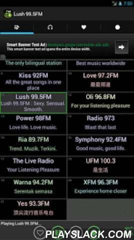 Best Singapore Radios  Android App - playslack.com ,  Listen to all Singapore radio channels via internet streaming with your phones and tablets from where ever you are. This app has all the radio channels you can find in Singapore.Includes radio channels from Hong Kong, Indonesia, Malaysia and Taiwan.Features:- short buffering time- auto reconnect when disconnected- auto off when phone rings or making calls- shows schedule and song info if available- sleep/wakeup timer- recording and…