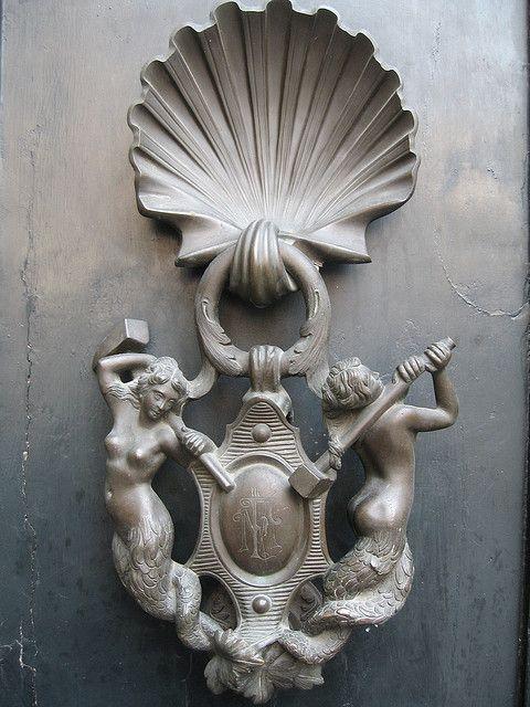 Mermaid Door Knockers | Mermaid Door Knocker   Rome